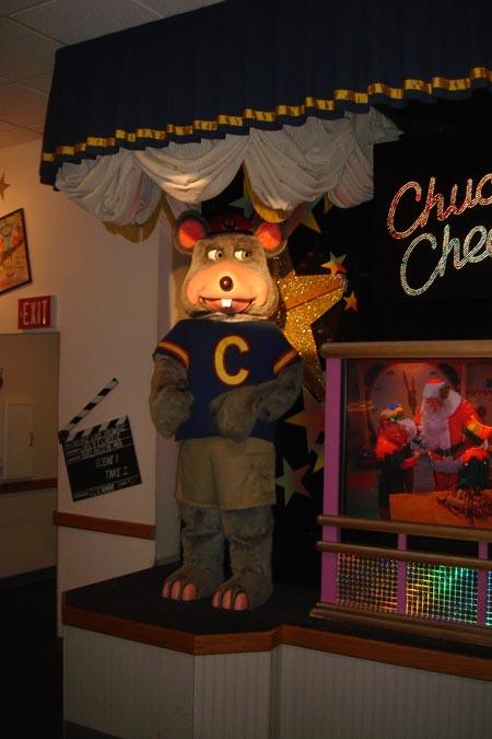chuck e cheese roseville mi